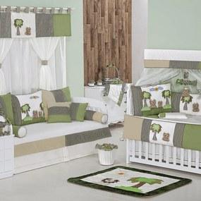Quarto Completo Para Bebê Reizinho Verde