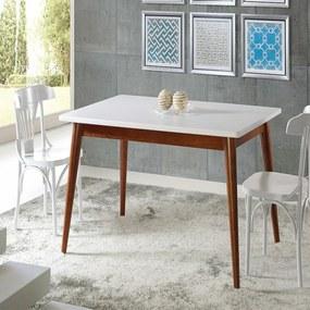 Conjunto de Jantar Novita com 4 Cadeiras Opzione