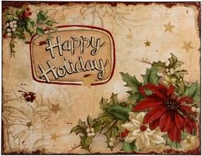 Quadro Decorativo de Parede Holiday