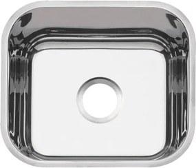 Cuba em aço inox polido 40x34 cm - Standard - Tramontina