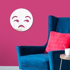 Espelho Decorativo Emoji Incomodado