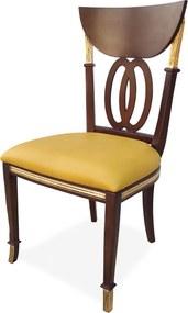 Cadeira Italiana Madeira Maciça Design Exclusivo Peça Artesanal