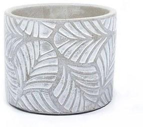 Vaso de cimento tropical