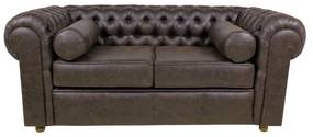 Sofá Chesterfield 02 Lugares 1.80 - Wood Prime 38846