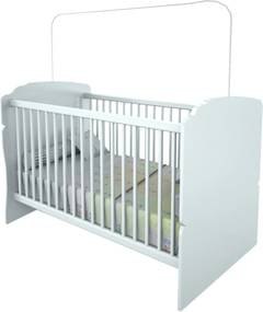 Berço Minicama Infantil Branco Completa Móveis