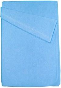 Lençol de Berço Baby Deluxe com Elástico Azul Liso