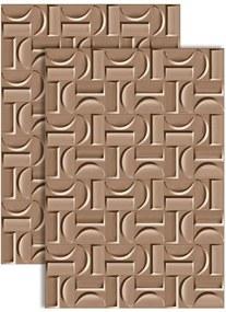 Revestimento Arcos Fendi Acetinado Retificado 43,7x63,1cm - 8479 - Ceusa - Ceusa