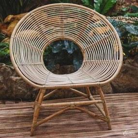 Cadeira Redonda de Rattan - Bali
