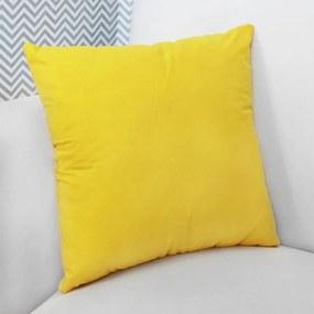 Almofada Amarelo Quadrada