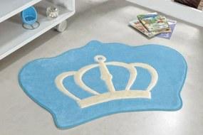 Tapete Guga Tapetes Formato Big Coroa Azul Turqueza