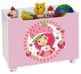 Caixa Para Brinquedo Lara Moranguinho – J&A Móveis