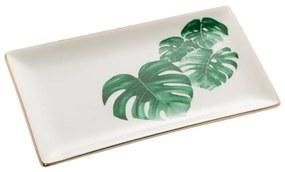 Jogo Mini Travessas 2 Peças Porcelana Leaf 18x10x2cm 61318 Royal