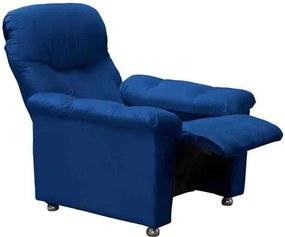 Poltrona do Papai Reclinável Virtus MX38 Azul - Matrix - Azul escuro