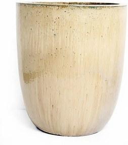 Vaso Vietnamita Cerâmica Importado U X Grande Planter Areia D66cm x A79cm