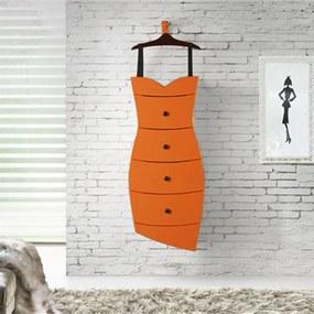 Cômoda Dress Suprema Laranja
