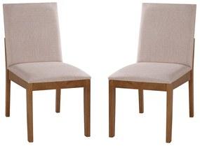 Conjunto 2 Cadeiras de Jantar Hannah - Wood Prime MF 31981