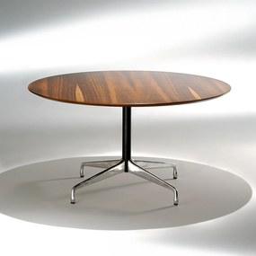 Mesa de Jantar Segmentada 1 Coluna Alumínio e Aço Studio Mais Design by Charles e Ray Eames