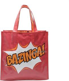 Sacola Ecobag Retornável Ecológica Bazinga - The Big Bang Theory