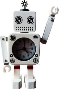 Relógio Robô Branco