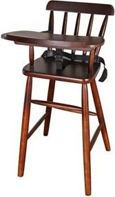 Cadeirao INFANTIL em Madeira cor Tabaco 93 cm (ALT) - 50377 Sun House