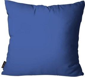 Almofada Premium Cetim Mdecore Lisa Azul45x45cm