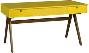 Escrivaninha Delacroix Amarela