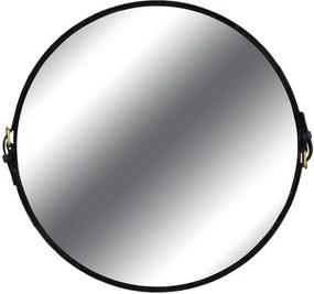 Espelho Fontenelle Couro Preto 75 cm - 35732 Sun House