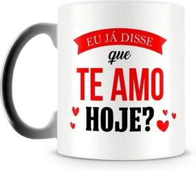 Caneca Mágica Personalizada Eu Já disse que Te Amo (1 Foto)