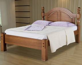 Cama de Casal Queen Havana Madeira Maciça Bedroom