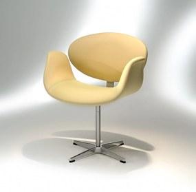 Cadeira Giratória Tulipa Alumínio Studio Mais Design by Pierre Paulin