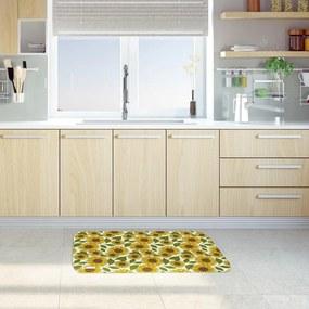 Tapete de Cozinha Mdecore Girassol Verde40x60cm