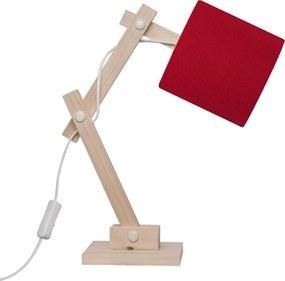 Luminaria Carambola Articulada Vermelha