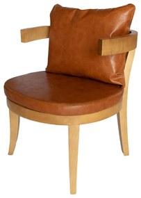 Cadeira Abraço Taís Puntel - Freijó - Tecido à Escolha  Kleiner Schein