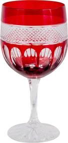 Taça de Cristal Lodz para Água de 500 ml - Rubi Scarlet