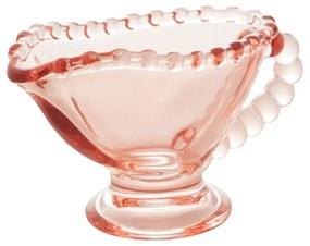 Molheira Individual Cristal Pearl Rosa 9x5x6cm 40ml 28468 Wolff