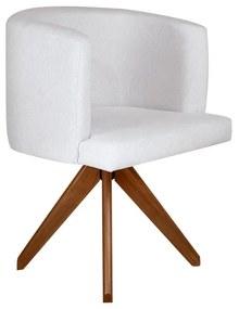 Cadeira de Jantar Giratória Vega - Wood Prime 38472