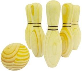 Jogo de Boliche NewArt Toys em Madeira - Único