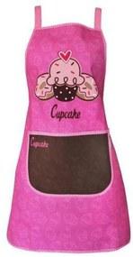 Avental De Poliéster Cupcake