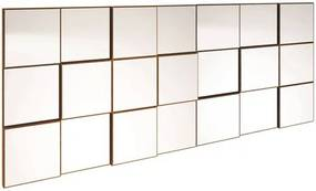 Quadro Espelho Block Extra Grande 1,75 MT (LARG) cor Freijo - 39580 Sun House