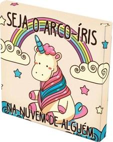 Tela Prolab Gift Arco-Íris Multicolorido Bege