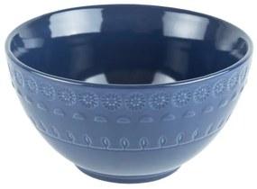 Jogo Bowl Porcelana 6 Peças Grace Azul 15cm 17563 Wolff
