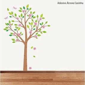 Adesivo Árvore Casinha