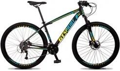 Bicicleta Aro 29 Quadro 21 Alumínio 27v Freio Hidráulico Volcon Preto/