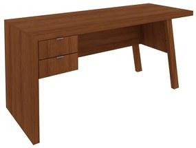 Mesa Para Escritório ME4122 Amendoa - Tecno Mobili