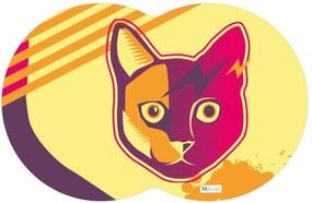 Tapete PET Gato Colorido 55x35cm