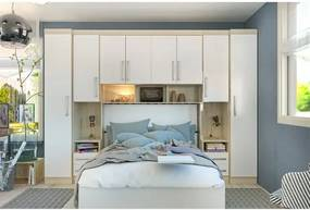 Dormitório Smart Casal 6 Peças Luciane