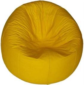 Puff Redondo Pop Cipaflex Amarelo Stay Puff