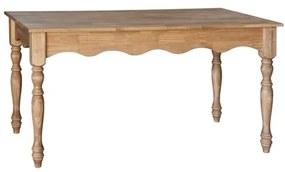 Mesa de Jantar com Pés Torneados - Wood Prime Biomóvel 1028566