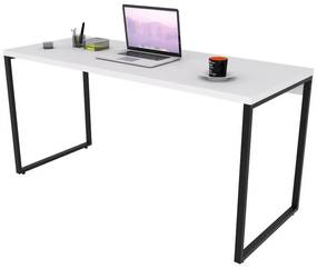 Escrivaninha Industrial Kuadra ME150 Branco - Compace