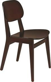 Cadeira Sem Braços London Tabaco Marrom - Tramontina